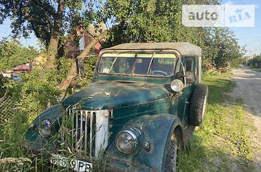 Позашляховик / Кросовер ГАЗ 69 1960 в Костопілі