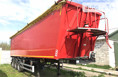 Тентований борт (штора) - напівпричіп GRAS GS-SAF 2015 в Прилуках
