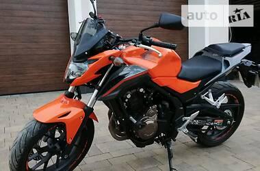 Мотоцикл Без обтекателей (Naked bike) Honda CB 500 2016 в Львове