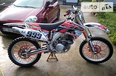 Мотоцикл Кросс Honda CRF 450 2006 в Ивано-Франковске