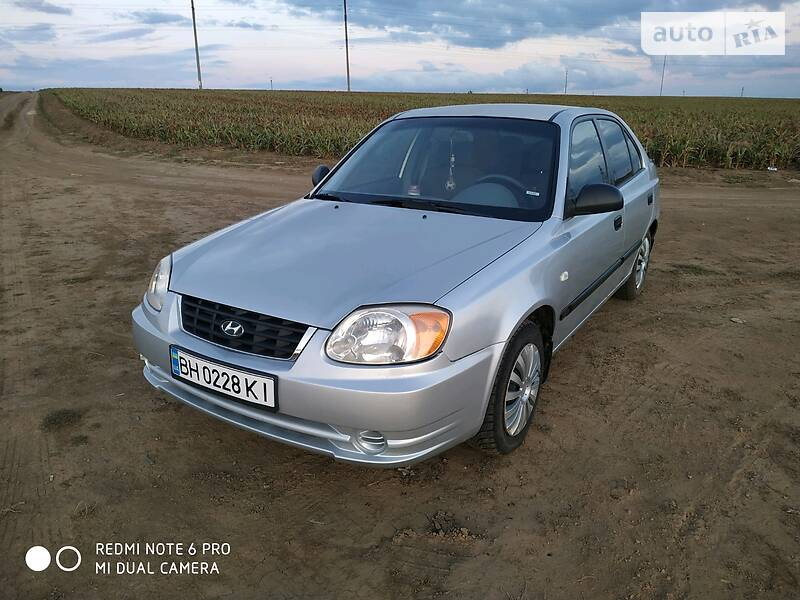 Hyundai Accent 2003 в Одесі