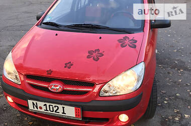 Hyundai Getz 2008 в Хусте