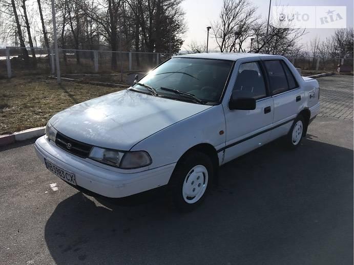 Hyundai Pony 1993 года в Виннице