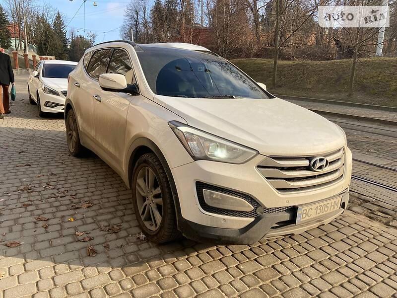 Позашляховик / Кросовер Hyundai Santa FE 2013 в Львові