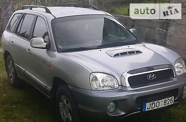 Hyundai Santa FE 2003 в Межгорье