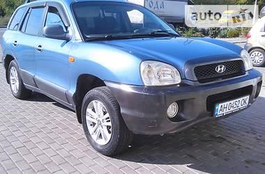 Позашляховик / Кросовер Hyundai Santa FE 2001 в Краматорську