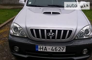 Hyundai Terracan 2002 в Тячеве