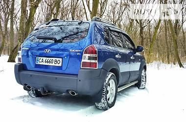 Hyundai Tucson 2.7 4wd  2005