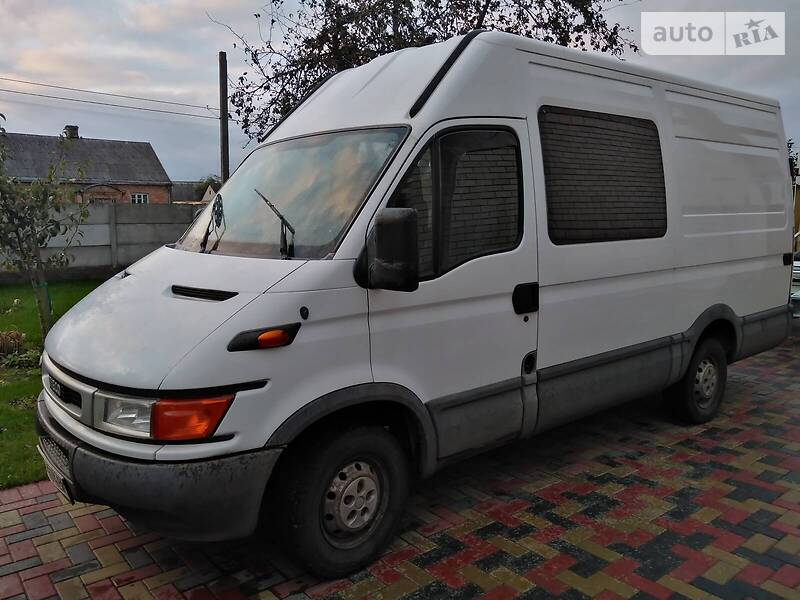 Iveco Daily груз.-пасс. 2004 в Луцьку