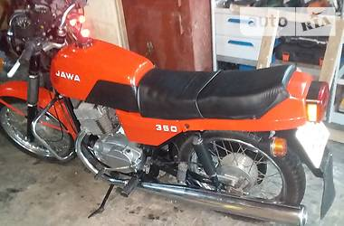 Jawa (ЯВА) 350 1990 в Дубно