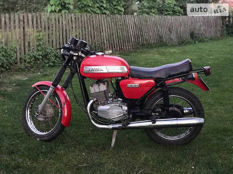 Jawa (ЯВА) 350 1986 в Львове