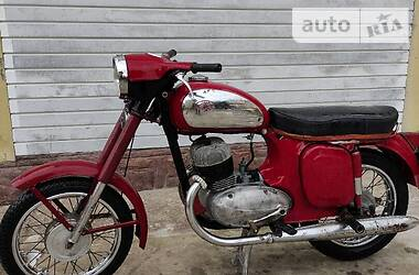 Jawa (ЯВА) 360 1967 в Львове