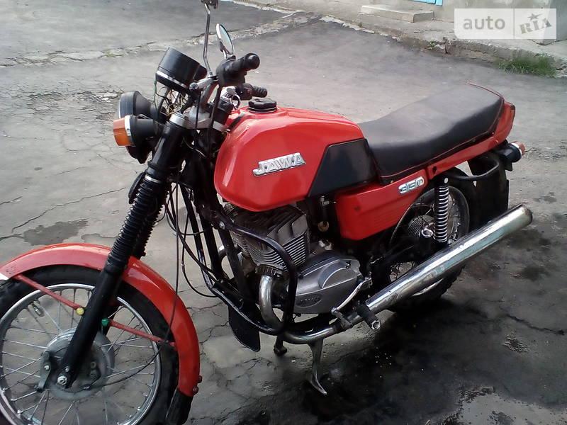 Jawa (ЯВА) 638 1989 в Снятине