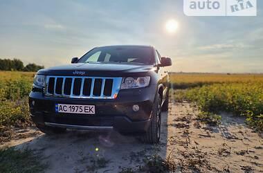 Позашляховик / Кросовер Jeep Grand Cherokee 2012 в Луцьку