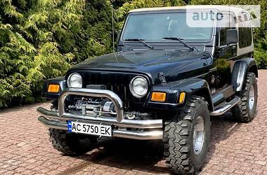 Внедорожник / Кроссовер Jeep Wrangler 2001 в Луцке