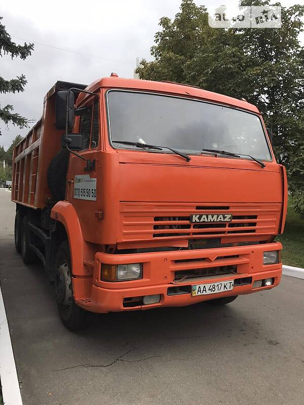 Самоскид КамАЗ 6520 2007 в Києві