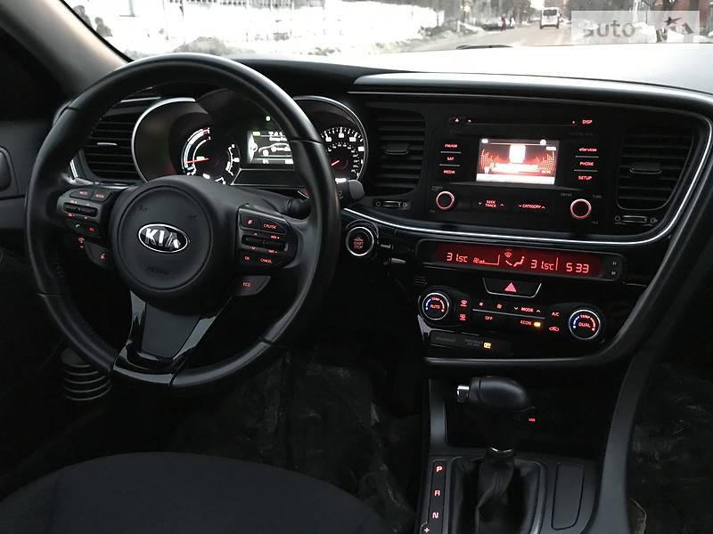 Kia Optima гибрид 2014