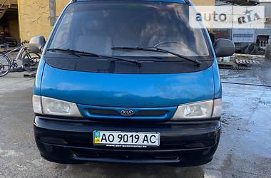Легковий фургон (до 1,5т) Kia Pregio груз. 1999 в Ужгороді