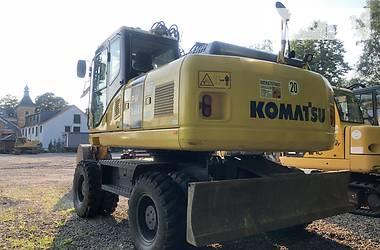 Komatsu PW 2013 в Киеве