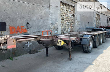 Контейнеровоз полуприцеп Kromhout ATT 1996 в Одессе