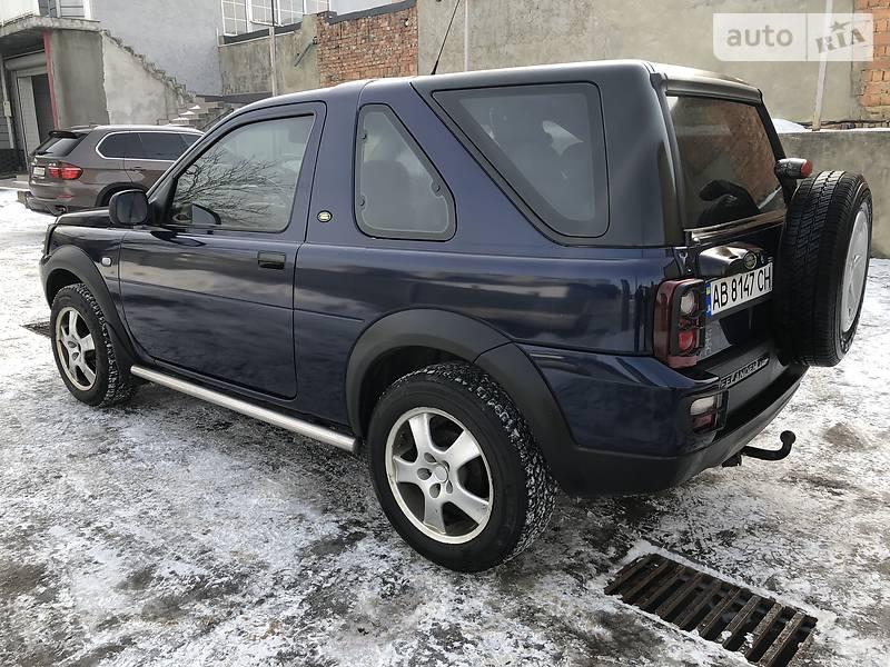 Land Rover Freelander 2004 года в Черновцах
