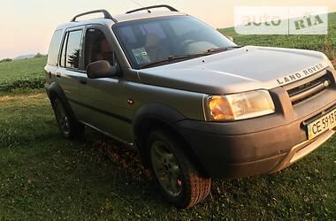 Внедорожник / Кроссовер Land Rover Freelander 1999 в Черновцах
