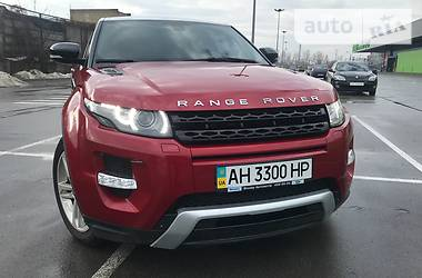 Land Rover Range Rover Evoque Red Perl 2012
