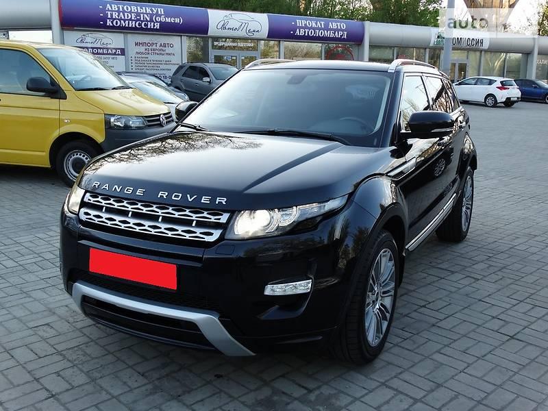Land Rover Range Rover Evoque 2011 в Днепре