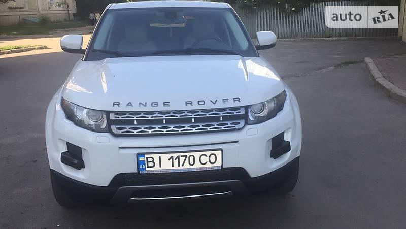 Land Rover Range Rover Evoque 2013 года в Полтаве