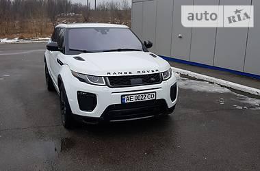 Land Rover Range Rover Evoque 2016 в Днепре