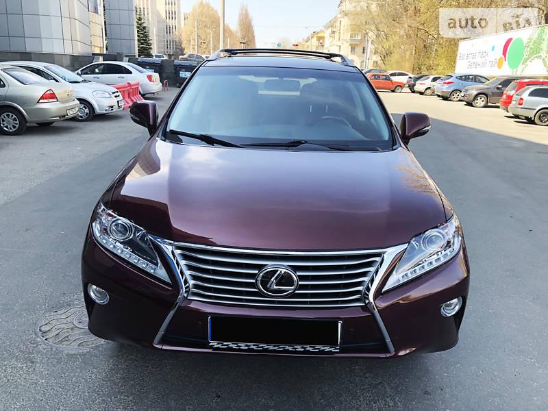 Lexus RX 2014 года в Днепре (Днепропетровске)