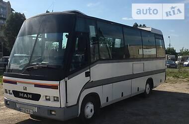Туристический / Междугородний автобус MAN 9.150 пасс. 1992 в Тернополе