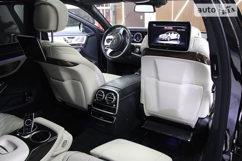 Maybach S500 2016 року
