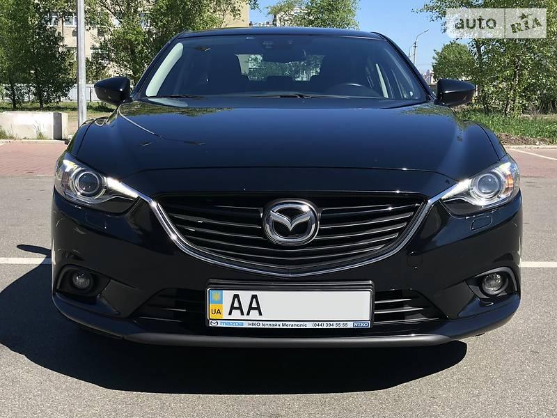 Mazda 6 2015 года