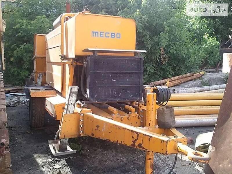 Бетононасос Mecbo P4.65 2007 в Станиці Луганській