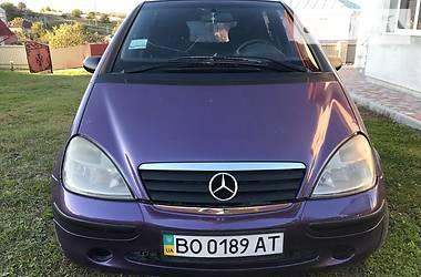Mercedes-Benz A 160 2000 в Львове