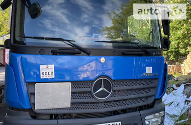 Тентованый Mercedes-Benz Atego 1218 2015 в Херсоне