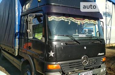 Тентованый Mercedes-Benz Atego 817 1998 в Трускавце