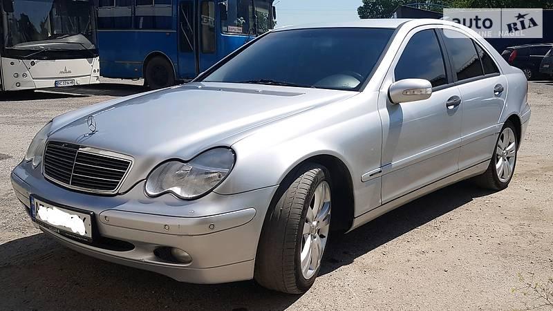 Mercedes C-Class 2002 года в Ивано-Франковске