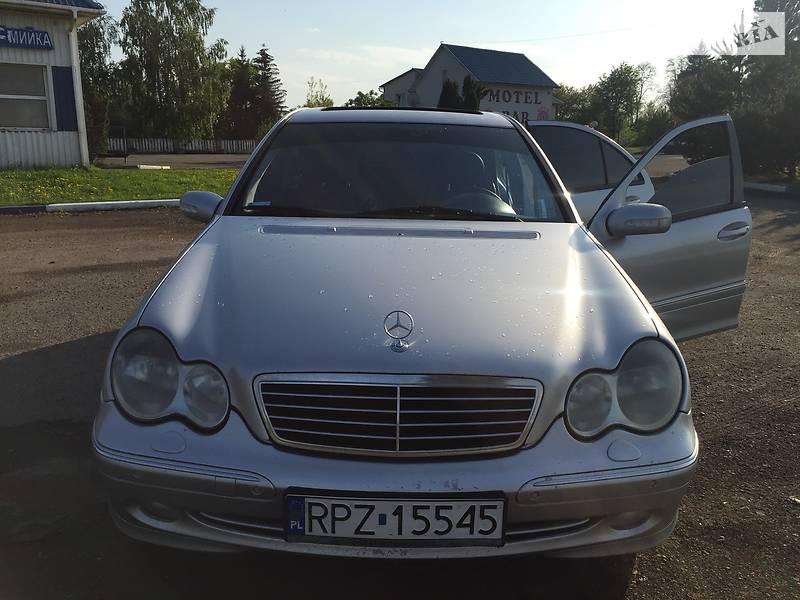 Mercedes-Benz C-Class 2001 в Львове