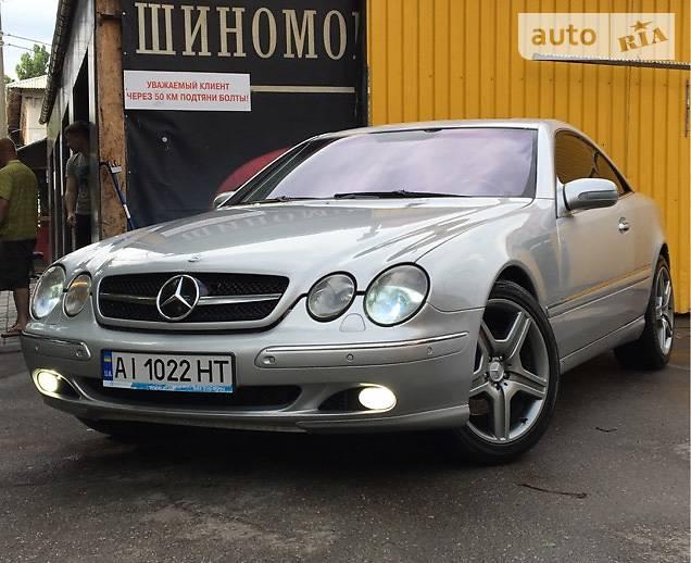 Mercedes CL-Class 1999 года в Киеве