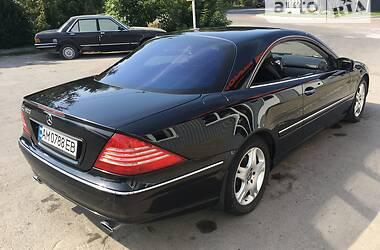 Купе Mercedes-Benz CL 500 2002 в Новограді-Волинському