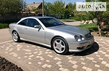 Mercedes-Benz CL 55 AMG 2002