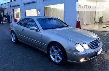 Mercedes-Benz CL 600 2001
