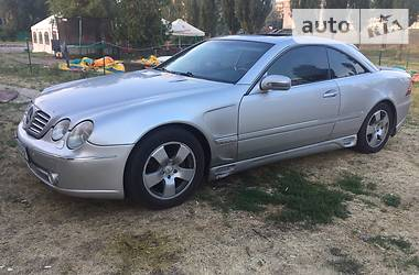 Mercedes-Benz CL 600 2001