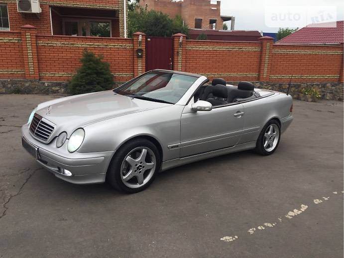 Mercedes-Benz CLK 200 2001 в Виннице