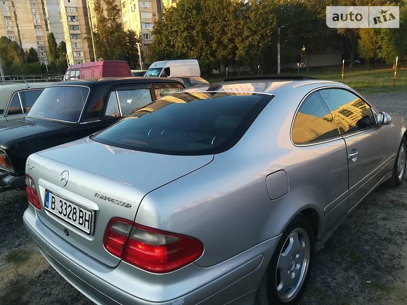 Mercedes-Benz CLK 200 2001 в Харкові