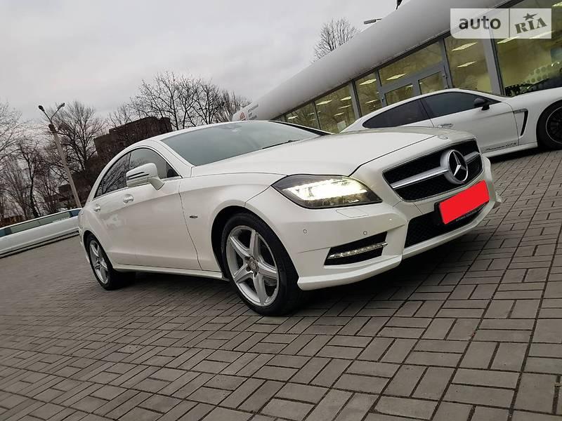 Mercedes-Benz CLS 2012 года