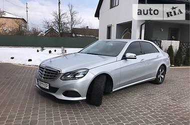 Mercedes-Benz E 200 2013