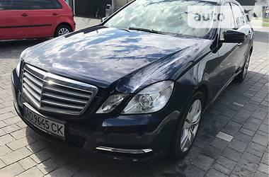 Mercedes-Benz E 200 2012 в Ужгороде